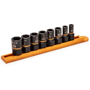 Gearwrench 8-Piece Impact Extraction Socket Set for $40