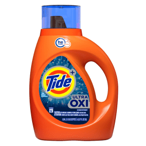Tide Ultra Oxi Liquid Laundry Detergent 59-Load Bottle for $8.98 w/ Sub & Save