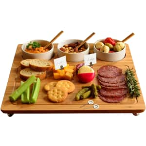 Picnic at Ascot Bamboo Cheese Board/Charcuterie Platter for $34