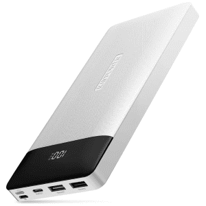 RAVPower 20,000mAh USB-C Power Bank for $17