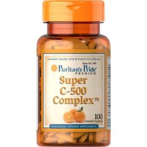 Puritan's Pride Vitamin C-500 Complex-100 Coated Caplets for $15