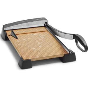 X-Acto Heavy Duty Wood Guillotine Paper Trimmer for $49