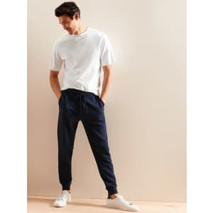Banana Republic Factory Men's Organic French Terry Joggers for $25 in cart