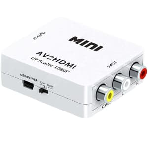 FGSDSE RCA to HDMI Converter Adapter for $7