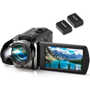 Kimire 1080p HD Digital Camcorder for $32