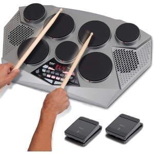 Pyle Tabletop Digital Drum Machine Kit for $160