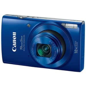 Canon PowerShot ELPH 190 Digital Camera w/ 10x Optical Zoom and Image Stabilization - Wi-Fi & NFC for $100