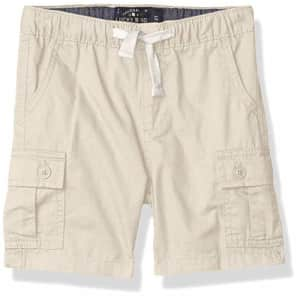 Lucky Brand Boys' Pull on Shorts, Rainy Day Cargo, M for $23