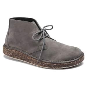 Birkenstock Men's Milton Suede Leather Boots for $114