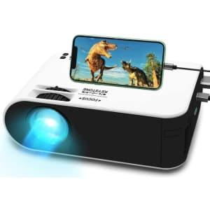WayGoal 1080p HD Mini Projector for $60