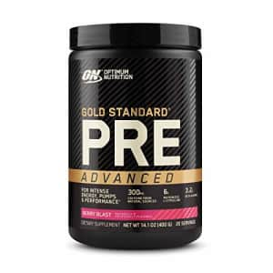 Optimum Nutrition Gold Standard Pre Workout Advanced, with Creatine, Beta-Alanine, Micronized for $49