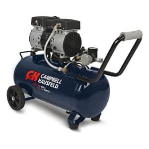 Campbell Hausfeld 8 Gallon Portable Quiet Air Compressor (DC080500) for $373