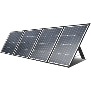 Aiper 160W Portable Solar Panel for $167