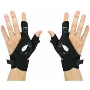 FomaTrade LED Fingerless Gloves for $8