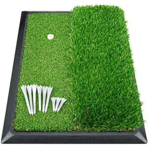 """Prowithlin 17"""" X 12"""" Indoor Golf Hitting Mat for $17"""