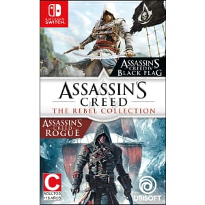 Assassin's Creed: The Rebel Collection for Nintendo Switch for $20