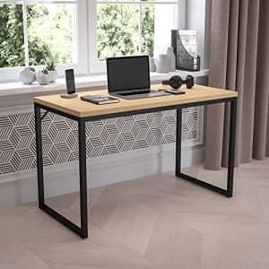 Flash Furniture Tiverton Industrial Modern Desk - Commercial Grade Office Computer Desk and Home for $122