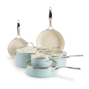 Food Network 10-Piece Farmstead Cookware Set for $94 w/ $10 Kohl's Cash