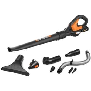 Worx Air 20V Power Share Cordless Leaf Blower & Sweeper Kit w/ 2Ah Battery for $81
