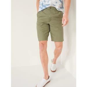 "Old Navy Men's 9"" Lived-In Shorts for $10"