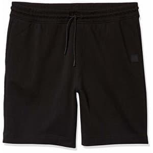 Hugo Boss BOSS Men's Casual Shorts, Jet Black, S for $71