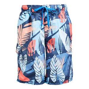 Kanu Surf Men's Legacy Swim Trunks (Regular & Extended Sizes), Montego Denim, Large for $19