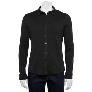 Apt. 9 Men's Slim-Fit Button-Up Comfort Shirt for $9