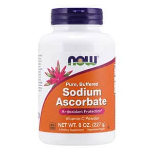 Now Foods NOW Supplements, Sodium Ascorbate Powder, Buffered, Antioxidant Protection*, 8-Ounce for $13