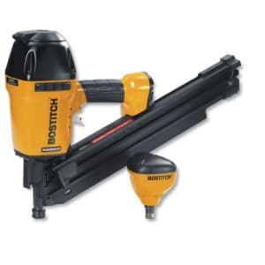 BOSTITCH Plastic Collated Framing Nailer with Free Impact Nailer for $207