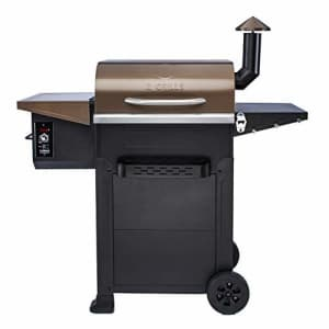 Z Grills Wood Pellet Grill & Smoker,8 in 1 BBQ Grill Outdoor Smoker with 600 sq in Cooking Area, for $359