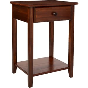 Casual Home Night Owl Nightstand with USB Ports for $57