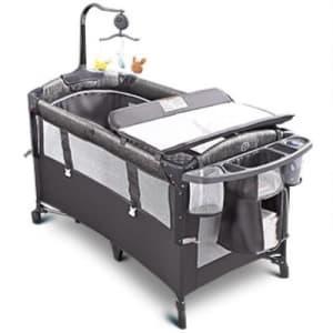 Adovel Aerobath Packable Bedside Bassinet for $169