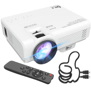 DR. J Professional Mini Projector for $60 w/ Prime