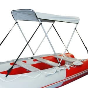 Folding Boat Canopy for $30