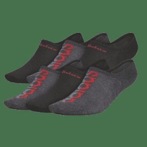 adidas Men's Linear Superlite 2 Super-No-Show Socks for $12