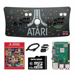 Inland Atari Ultimate Arcade Fightstick USB Dual Joystick with Trackball 2 Player Game Controller Powered for $190