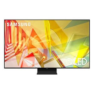 SAMSUNG 75-inch Class QLED Q90T Series - 4K UHD Direct Full Array 16X Quantum HDR 16X Smart TV with for $3,298
