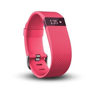 Fitbit Charge HR Wireless Activity Wristband (Pink, Small (5.4 - 6.2 in)) for $98