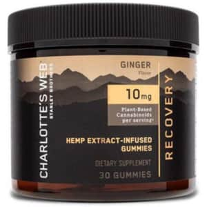 Charlotte's Web Recovery CBD Gummies 150mg 30-Count Jar for $21