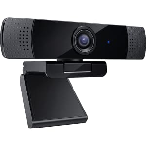 Wenkia 1080p Dual Mic Webcam for $30