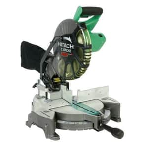 Metabo Hitachi C10FCH2 15-Amp 10-inch Single Bevel Compound Miter Saw with Laser Marker for $249