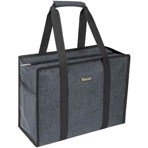 Baleine Zip-Top Utility Tote Bag for $12