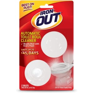 Iron Out Automatic Toilet Bowl Cleaner 2-Count for $7