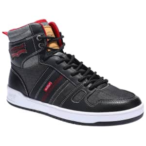 Levi's Men's 521 High-Top Sneakers for $35