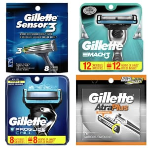 Gillette Men's Razor Blade Refills at Amazon: $3 off + extra 5% off via Sub & Save