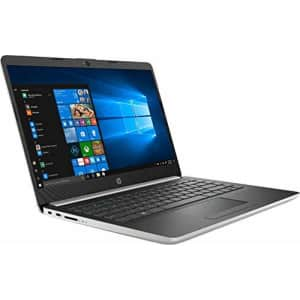 2019 HP 14 Laptop (Intel Pentium Gold 2.3GHz, Dual Cores, 4GB DDR4 RAM, 128GB SSD, Wi-Fi, for $488