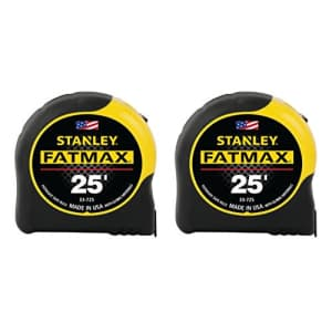 Stanley FMHT74038A FatMax 25 Foot Tape Measure 2PK for $65