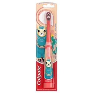 Colgate Kids Battery Powered Toothbrush, Llama, 1 count for $5