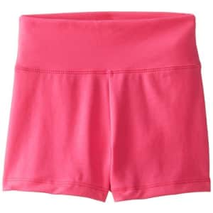 Capezio Big Girls' Team Basic High Waisted Short, Hot Pink, Large for $17