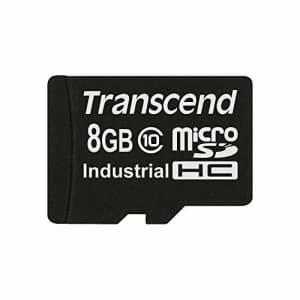 Transcend TS8GUSDC10I 8 GB MicroSD High Capacity (microSDHC) - 1 Card for $12